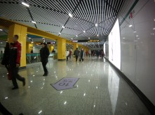 Brand new Line 12 Station at S. Shaanxi Road!