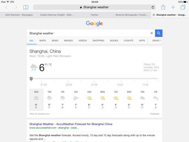 i would never have known this would be shanghai\'s winter – Reverse ...