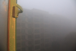 The smog in the morning last Saturday