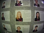 My Biography at School. My surname is 'Biography!' hahahahaha