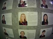 My Biography at School. My surname is 'Biography!' hahahahaha