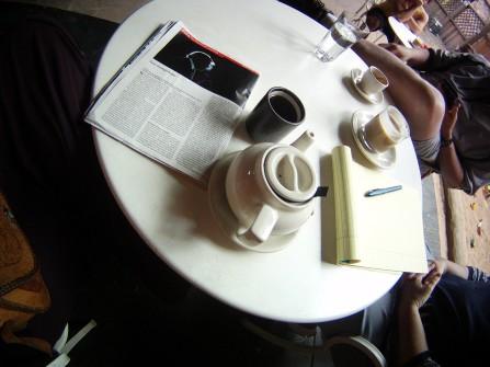 Puerh Tea at the Trident