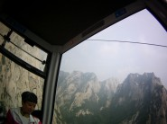 Fails to capture how cool the gondola down was.