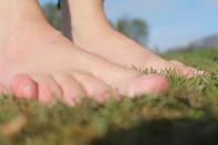 Barefoot!