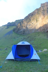 Our trusty tent