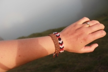 New handmade Iceland bracelet!
